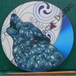 Celtic Art Therapy - A Mindfulness Tool - Celtic Wolf